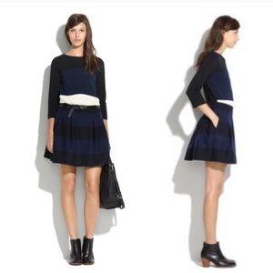 Madewell Mayle Wool Pleated Mini Skirt